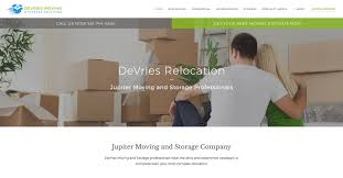 Relocation Estimate by Jupiter Moving Company Storage Solutions From Devries Relocation
