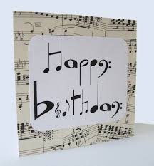 this birthday card makes the music nerd in my very happy could
