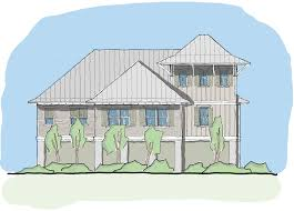 elevated home plans view orientated coastal house plans perch collection u2014 flatfish