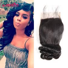 pics of loose wave hair peruvian loose wave hair 4 4 human hair closure best quality