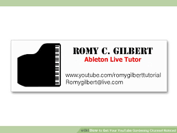 Youtube Business Card How To Get Your Youtube Gardening Channel Noticed 9 Steps