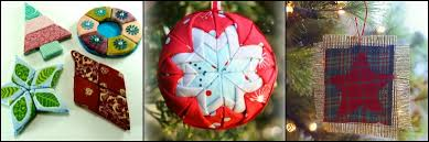 7 fast and festive no sew ornaments seams and scissors
