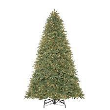 shop living 9 ft pre lit mckinney fir artificial