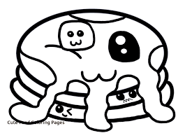 Cute Foods Coloring Pages Free Az Coloring Pages Of Cute Food Food Color Pages