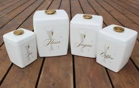 white kitchen canister sets kitchen canisters set mada privat