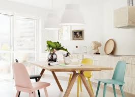 dining awesome scandinavian dining tables and chairs black white