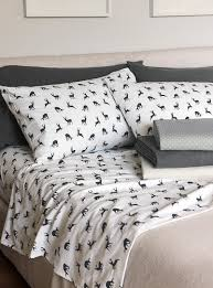 sale bedroom sheets pillowcases accessories for the home dancing deer flannel sheet br fits mattresses up