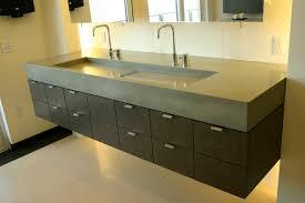 Double Trough Sink Bathroom Vanity Bathroom Vanity One Sink Two Faucets Www Islandbjj Us