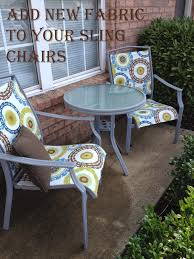 Sling Replacement For Patio Chairs by Patio Sling Chair Redo Thealteredpast Blogspot Com