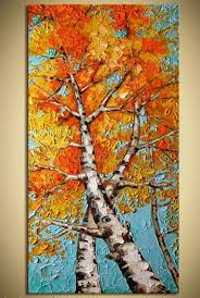 best 25 painted trees ideas on acrylic painting trees