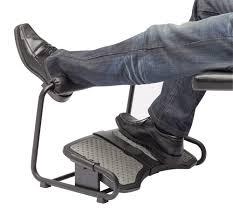 foot elevation under desk inzone footrest by sun flex ergocanada detailed specification page