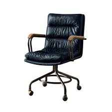 Leather Office Chair Acme Furniture Hedia Vintage Whiskey Top Grain Leather Office Chair