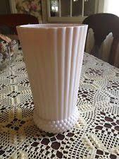 Pink Milk Glass Vase Pink Milk Glass Ebay