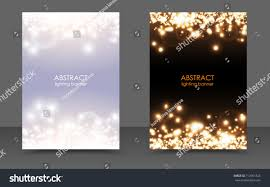 abstract sparkling christmas lights magic background stock vector