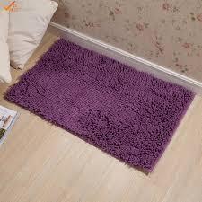 Shaggy Bathroom Rugs 40 60cm Chenille Microfiber Bathroom Rug Non Slip Shaggy Bath Mat