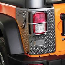 jeep bumper stickers exterior accessories for jeep wrangler rear tail light lamp