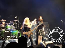 marco hietala and floor jansen 1 by gabriellelest on deviantart