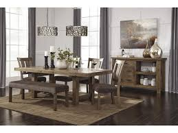 signature design by ashley tamilo dining room server with two