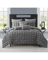 Charcoal Grey Comforter Set Sweet Deal On Dkny Gotham King Comforter In Charcoal