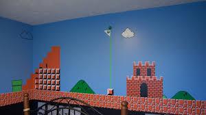chambre mario bros nintendojofr une chambre sur le thème de mario bros