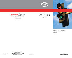2010 toyota avalon owners manual just give me the damn manual