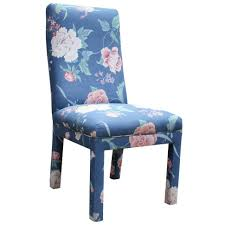 white dining chairs cheap dining room blue and white dining chairs skirted parsons chair