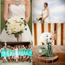 turquoise wedding ideas rustic wedding chic