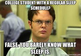 College Kid Meme - the life of a college kid halfway through the semester