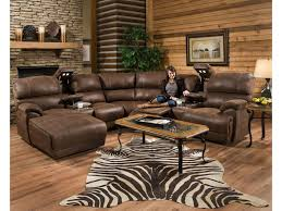 Sectional Sofas With Recliners by Franklin Empire Reclining Sectional Sofa With Right Side Chaise