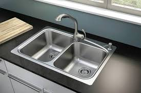 Drop In Stainless Steel Sink Popular Stainless Steel Sink With Drainboard U2014 The Homy Design