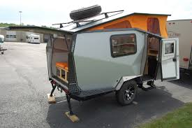 survival truck camper a look at the cricket trailer the small trailer enthusiast
