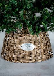 wicker christmas tree skirt 48cm x 26cm u2013 matalan tree skirts