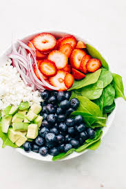 avocado strawberry spinach salad with poppyseed dressing recipe