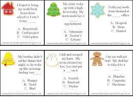 a perfect processing christmas auditory closure activities