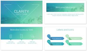 Powerpoint Slide Theme Clarity Powerpoint Template Presentationdeck Powerpoint Theme