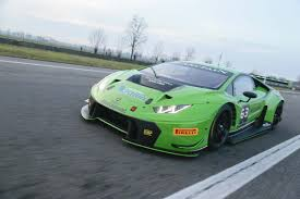lamborghini headquarters huracan gt3 unveiled