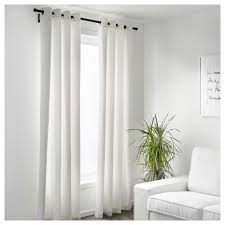 Black And White Bedroom Drapes Merete Curtains 1 Pair 57x98