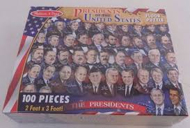 melissa and doug presidents of the united states floor puzzle 2868