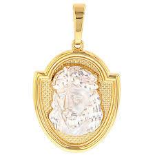 religious pendants yellow gold religious 14k necklaces pendants ebay