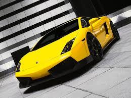 mobil balap lamborghini gambar wallpaper mobil sport lamborghini kuning mempesona trend