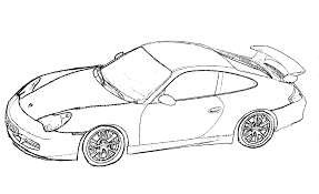 porsche car coloring pages gt3 teaching ideas