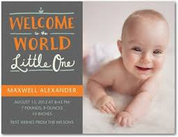 announcement cards 20 inspired birth announcements to welcome baby