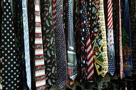 wardrobe should a tacky tie something that says he