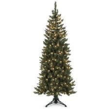 corner christmas tree pre lit spruce corner christmas tree
