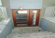 charming basement entry door options doors interesting