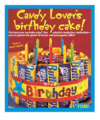 Candy Birthday Cake All Things For All Parties