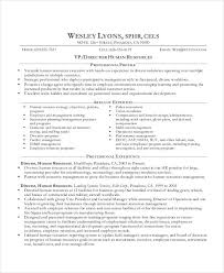 Sample Resume For Experienced Hr Executive by Best Executive Resume Templates 26 Free Word Pdf Documents