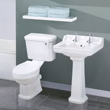 Cloakroom Basins With Pedestal Carlton Traditional Toilet And Basin Set One Should Think About