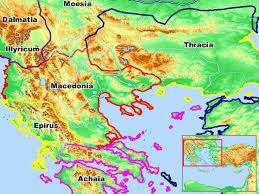 Gennesaret Map Free Bible Images Maps Of Regions Visited By The Apostle Paul