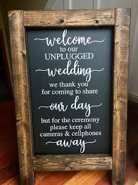 wedding quotes etsy best 25 unplugged wedding sign ideas on unplugged